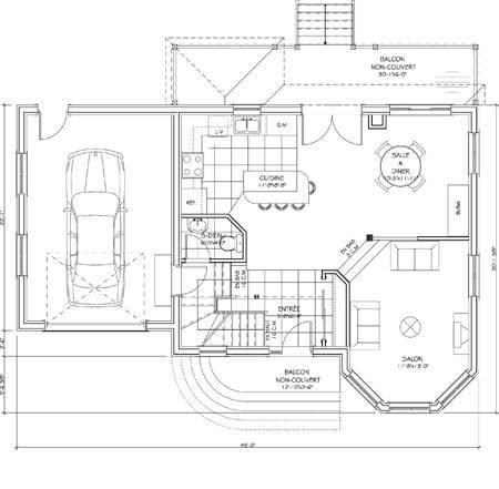 plan de maison senegal