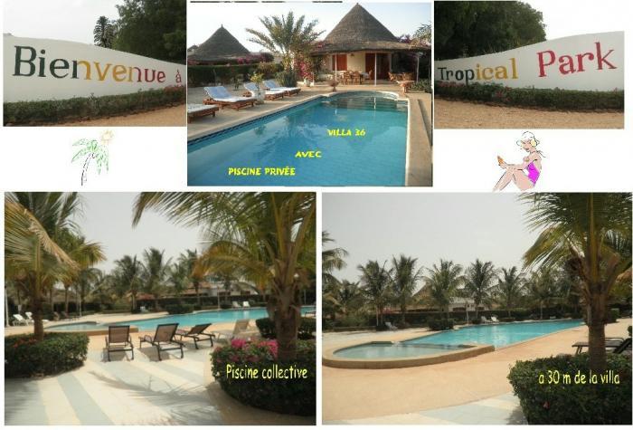 Saly villa 3 chambres avec piscine priv e r sidence for Residence vacances avec piscine privee