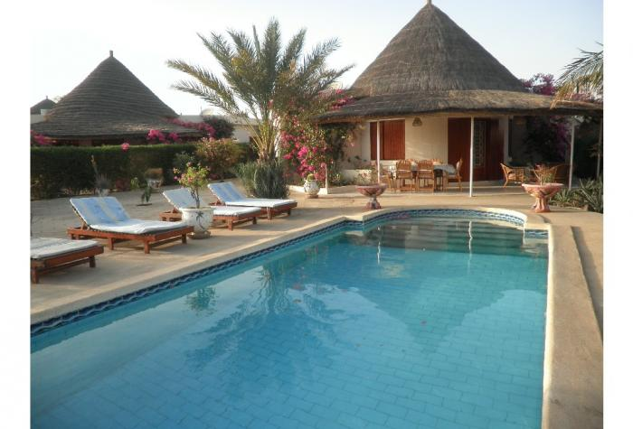 saly villa 3 chambres avec piscine prive rsidence tropical park garde