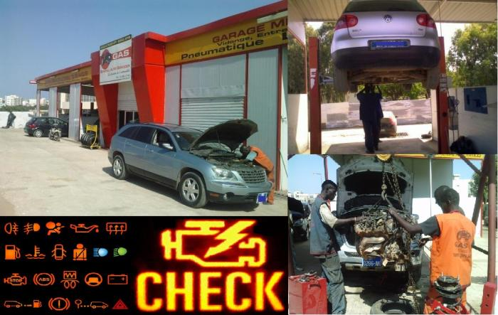 General auto services garage professionel for Garage sn autos 42