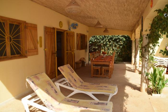 Location saly villa priv e de 1 10 pers avec piscine for Acheter une maison au senegal a saly